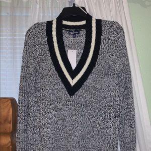Knit V-Neck Sweater! NEVER WORN/BRAND NEW!